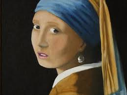 painting girl with a pearl earring 43 painting girl with a pearl earring vermeer girl with a pearl