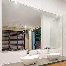 Bathroom With Mirror Reflekta Bevelled Edge Mirror 1800x900mm Highgrove Bathrooms