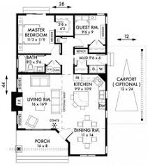 Floor Plan Two Bedroom House Floor Plan For A Small House 1 150 Sf With 3 Bedrooms And 2 Baths