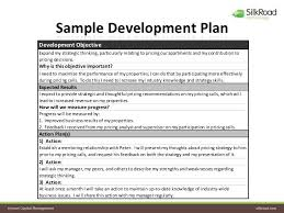 employee development plan template employee development plan