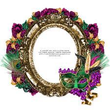 mardi gras frame leatherandlaceads mardi gras free cluster frame