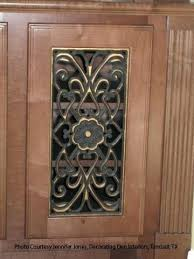 decorative metal cabinet door inserts metal cabinet inserts cabinet panel insert metal tin punched wheat