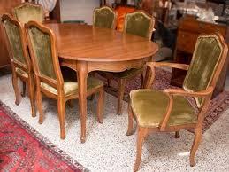 davis cabinet company dining room table vintage davis cabinet company walnut dining table with 6 chairs