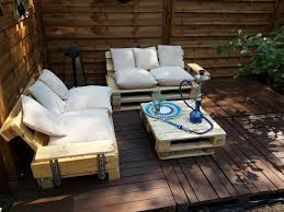Patio Furniture Out Of Pallets - pallet patio furniture cushions style pixelmari com