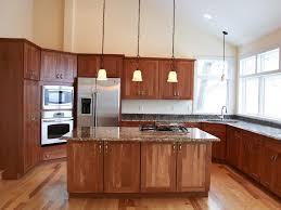 elegant light cherry kitchen cabinets about interior design