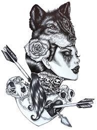 29 wolf designs