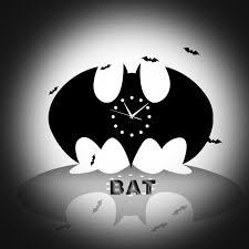 Batman Home Decor Online Buy Wholesale Batman Wall Clock From China Batman Wall