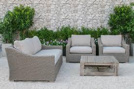 Palisades Outdoor Wicker Sofa Set - Wicker sofa sets