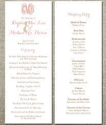 traditional wedding programs traditional monogram flat wedding programs wedding plans