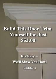 How To Install Interior Door Casing Door Molding More Molding Pinterest Door Molding Moldings