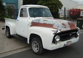 Classic Ford Truck Auto Parts - 1954 ford f100 1953 1955 1956 v8 auto pick up truck for sale youtube