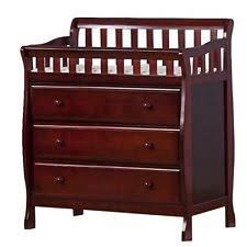 Cherry Wood Baby Changing Table Changing Table Dresser Ebay