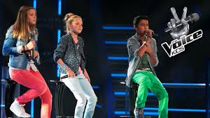 The Voice Kids Blind Auditions 2014 Ayoub Vs Ieke Vs Merel Angel The Voice Kids 2014 The Battle