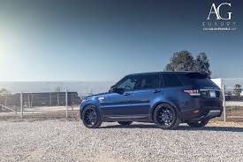 blue land rover ag luxury wheels range rover sport forged wheels