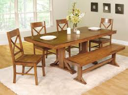 country dining room sets country style dining room sets with table and single bench