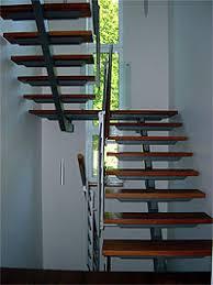 treppen aus metall treppen geländer pieper metallbau