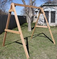 tall a frame swing stand