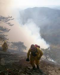 table rock mountain sc forestry commission fire at table rock state park has grown to 250
