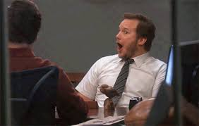 Mind Blown Meme Gif - whoa parks and recreation reaction gifs