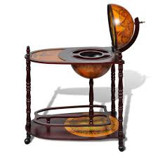 globe bar cabinet with table trolley amazon co uk kitchen u0026 home