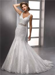 wedding dresses without straps trumpet mermaid straps v neck beaded lace wedding dress with