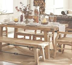 Rustic Farmhouse Dining Table And Chairs Simple Distressed Farmhouse Kitchen Table With White Burlap Table