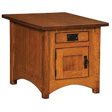 How To Make End Tables by Amish End Tables Amish Furniture Shipshewana Furniture Co