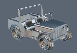 jeep cartoon offroad cartoon jeep 3d cgtrader