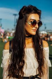 199 best hairstyles for images on pinterest hairstyles coachella hair trends space buns hairstyle look