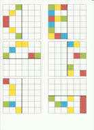 reflective symmetry pattern worksheets by christie1991 teaching