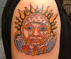 9 most fascinating tribal sun tattoos styles at