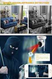 Interior Home Surveillance Cameras by Daytech Dt C8815 Wireless Wifi 720p Home Security Ip Camera