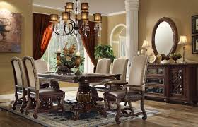 Traditional Dining Room Sets Monaco Collection 7 Traditional Dining Set Orange County