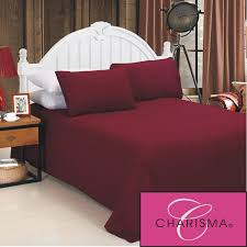 top quality 4pc bedding sheet set a brand charisma jersey knit