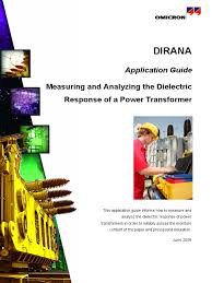 dirana application guide measuring and analyzing power