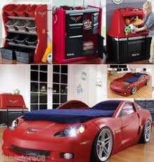 corvette car bed for sale toddler race car bed used as pit well since i can t seem to