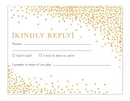 response card falling confetti response card flat dear addie stationery