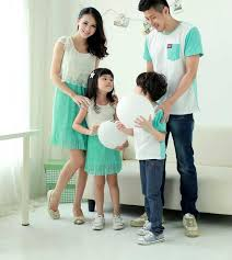 fashion matching clothing sets for family summer dress for