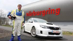 subaru cts v subaru wrx sti sedan nurburgring test footage with tommi makinen