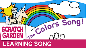the colors song the colours song scratch garden youtube