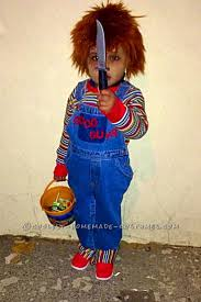 Coolest Toddler Halloween Costumes 25 Toddler Chucky Costume Ideas Chucky