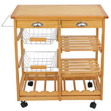 kitchen storage island cart wood kitchen storage island cart dining trolley basket stand counter