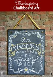 diy thanksgiving chalkboard
