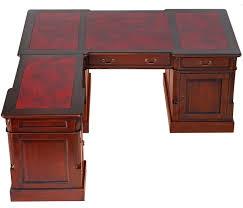 bureau style victorien bureau d angle style anglais en acajou plateau cambridge