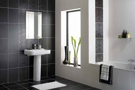 Marvelous Black And White Bathroom Ideas SloDive - Bathroom designs black and white