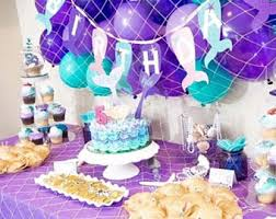 mermaid themed baby shower mermaid theme etsy