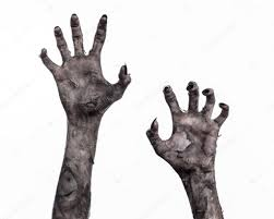 halloween monsters background black hand of death the walking dead zombie theme halloween