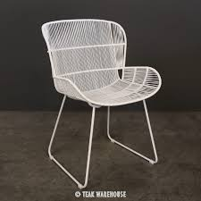 Outdoor Wicker Dining Chair Nairobi Woven Dining Arm Chair White Dining Chairs Dining