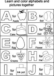 capital letters coloring printable page for kids alphabets best of