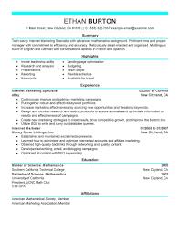 Marketing Resumes Sample by Social Media Resume Objectivesocial Media Manager Resume Sample